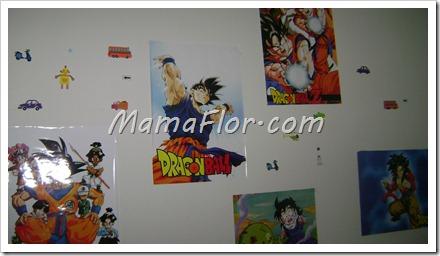 Como decorar la habitacion de los nenes con laminas de dibujos animados
