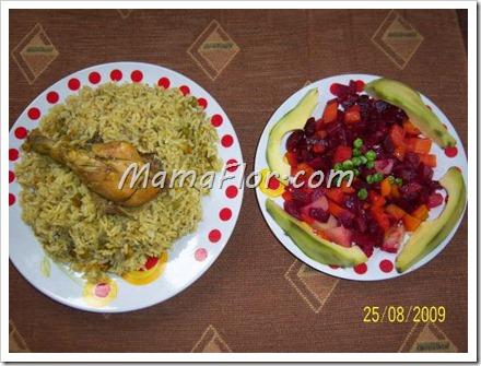 Como preparar el arroz con pollo de manera rapida