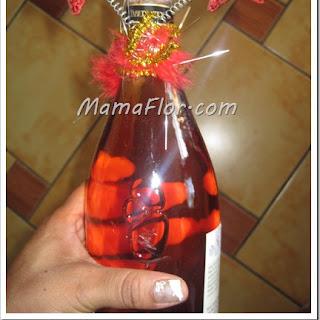 Como decorar la Botella para Celebrar Año Nuevo