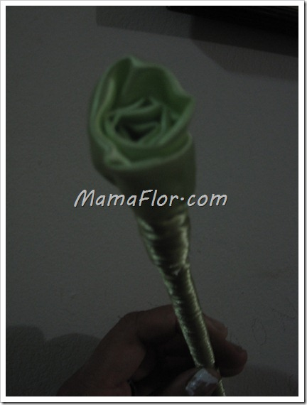 Como hacer una rosa de manera fácil