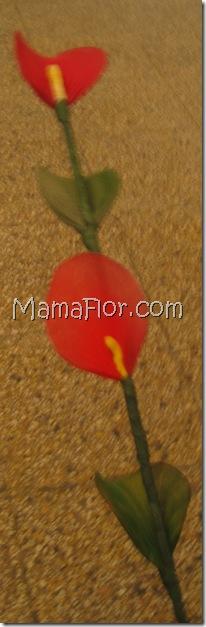 Flor de Cartucho en Medias Nylon