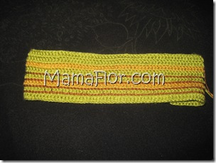 Crochet: Como Tejer una Vincha Matizada
