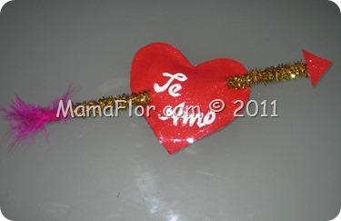 Corazón Cupido para regalar en San Valentin (14 de febrero)