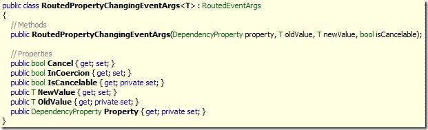 RoutedPropertyChangingEventArgs<T>