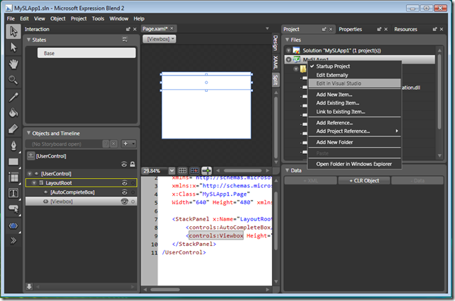 Edit in Visual Studio