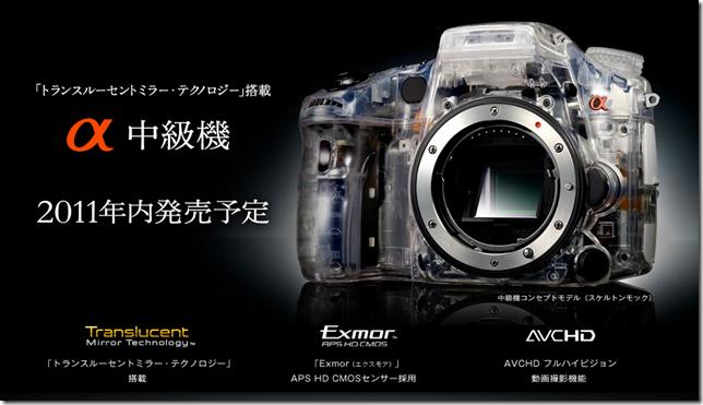 2011 Sony A77