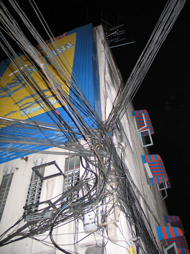 Kabel-kabel Ruwet di Dunia