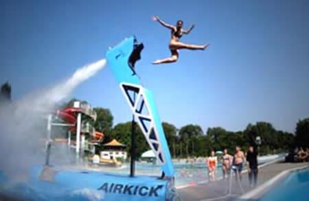 Air Kicking