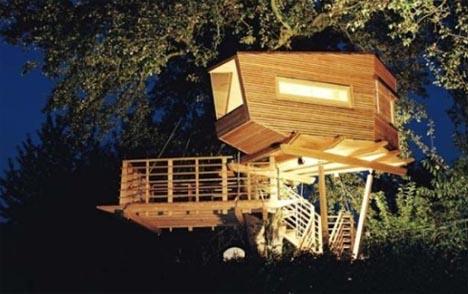 Bentuk Desain Rumah on Dengan Desain Desain Rumah Pohonnya Dalam Berbagai Bentuk Dan Ukuran