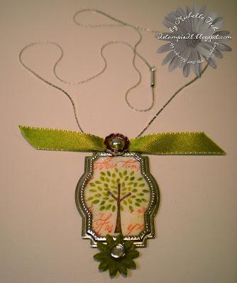 Trendy Trees Necklace