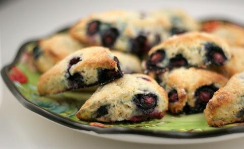 blueberry scones 1