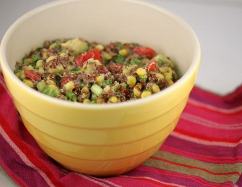 red quinoa salad 1