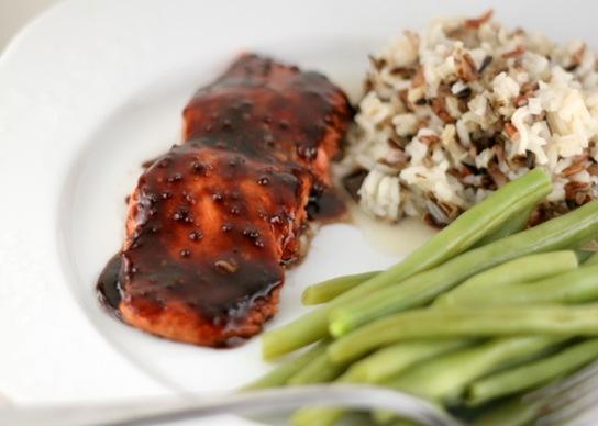 pom glazed salmon 1