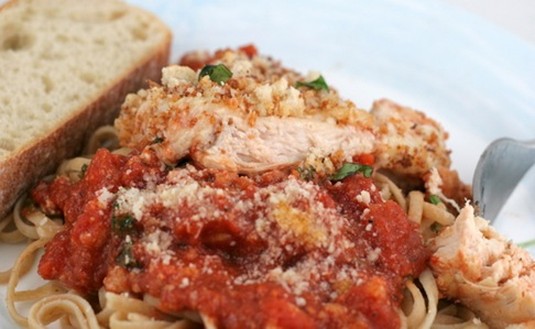 skillet chicken parm 4