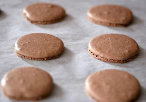 chocolate macarons 2