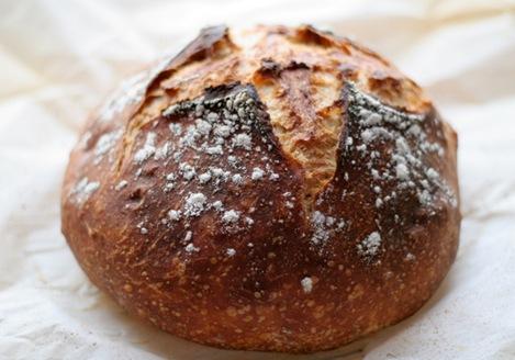 almost no knead bread 1