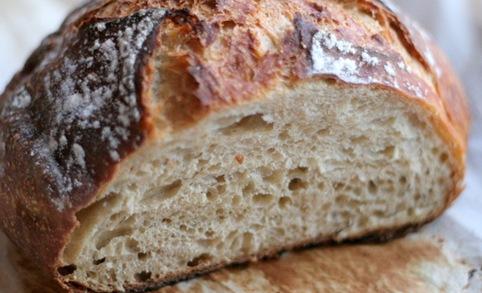 almost no knead bread 3