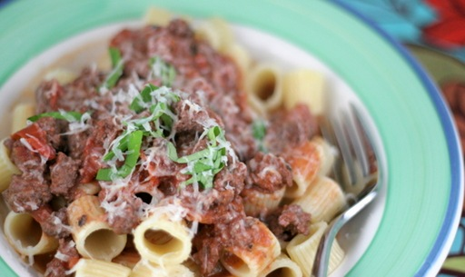 weeknight bolognese 1
