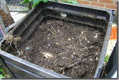 Composter #1:  Almost all done!