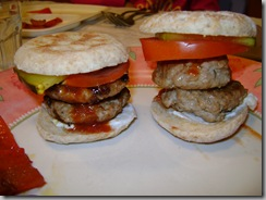 Tiny burgers:  juicy and SLIDER-iffic!!!