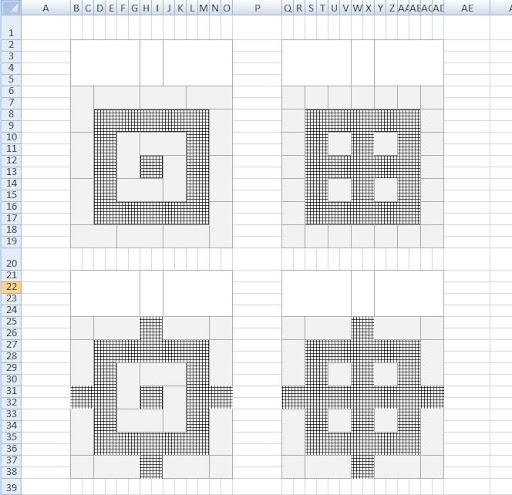 Diamond Pattern Tile Floor Layout