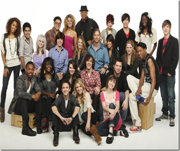 American Idol 9 Top 24 Photos