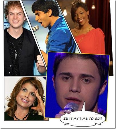 American Idol Results 04-08-09