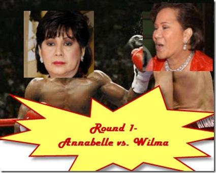 Annabelle Rama vs. Wilma Galvante