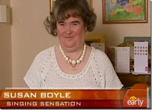 Susan Boyle Sings for America - Susan Boyle British Idol