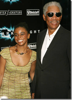 Morgan Freeman granddaughter Edena Hines