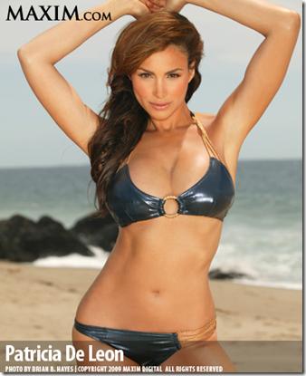 Patricia De Leon Pics Maxim Cover