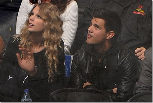 Taylor Swift Taylor Lautner Hockey Date