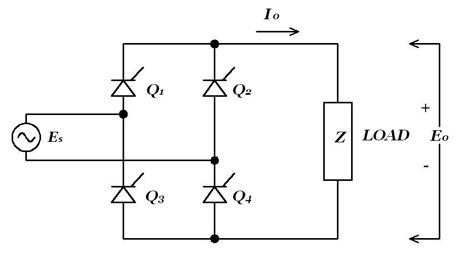 thyristor single phase bridge rectifier inverter power electronic rh protorit blogspot com