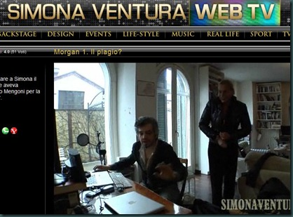 simona ventura web tv