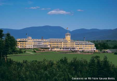 When You Hear The Phrase Grand Resort Hotels In New Hampshire Typically Only Four Elishments Come To Mind Mount Washington Hotel Bretton