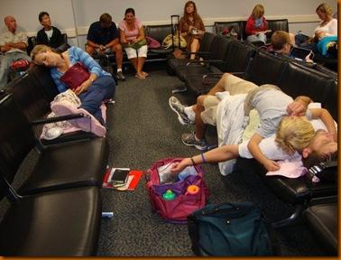 DC Airport waiting