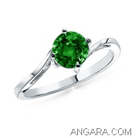 Solitaire-Round-Emerald-Sleek-Curved-Shank-Ring-in-Platinum-(5-mm)_SRW0556EH_Reg