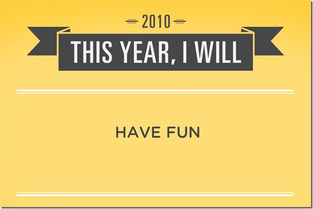 New Year's Resolution Generator - Opera
