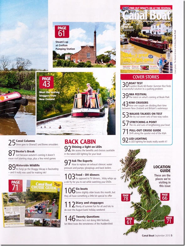 Canalboat Magazine 3