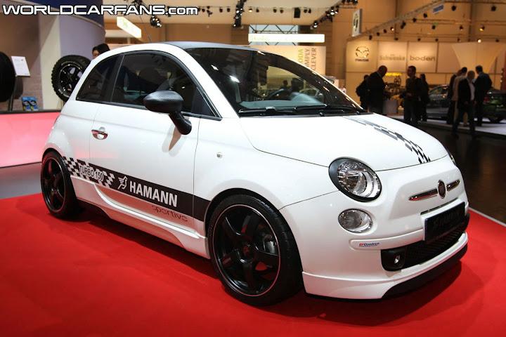 Fiat 500 Blog(フィアット500ブログ) Hamann Sportivo エッセンモーターショー2008