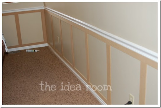 using mdf for wainscoting 2