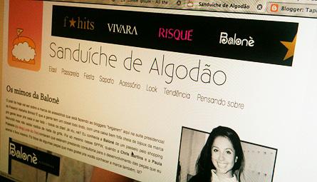 Blog Sanduíche de Algodão
