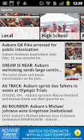 Screenshot of Opelika-Auburn News