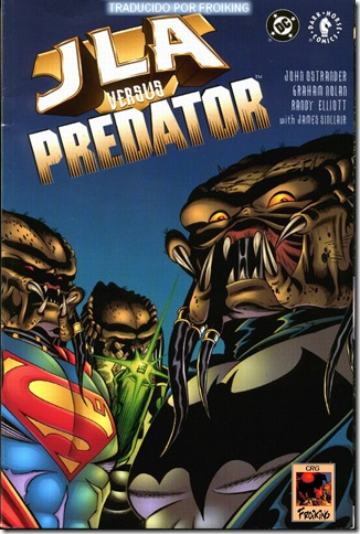 JLA vs Predator