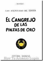 P00009 - Tintn  - El cangrejo de las pinzas de oro.howtoarsenio.blogspot.com #8