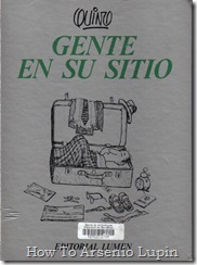 Quino 1986 - Gente en su sitio
