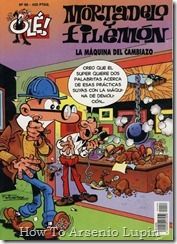 P00096 - Mortadelo y Filemon  - La maquina del cambiazo.howtoarsenio.blogspot.com #96