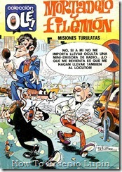 P00103 - Mortadelo y Filemon  - La caza del caco.howtoarsenio.blogspot.com #103