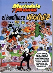 P00174 - Mortadelo y Filemon  - El kamikaze Regulez.howtoarsenio.blogspot.com #174