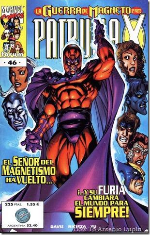 2011-04-13 - X-Men - La guerra de Magneto
